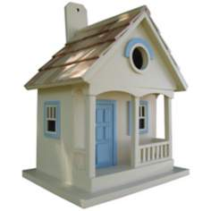 Yellow Pacific Grove Bird House