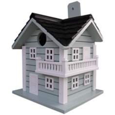 Light Blue Surf City Bird House