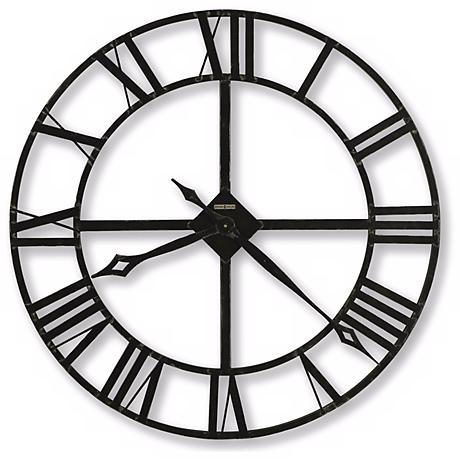 "Howard Miller Lacy II Quartz 14"" Wide Wall Clock"