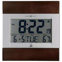 Howard Miller Techtime III LCD Table or Wall Clock