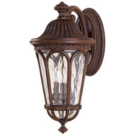 "Murray Feiss Regent Court 21"" High Outdoor Wall Lantern"