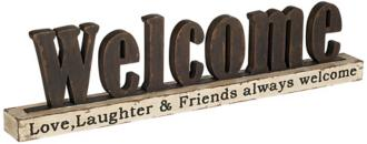 Welcome Sign Home Decor Accent