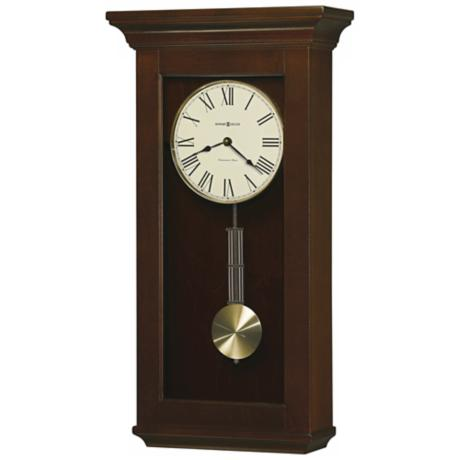 "Howard Miller Continental 24 1/2"" High Wall Clock"