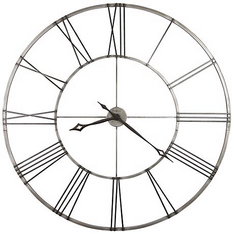 "Howard Miller Stockton 49"" Wide Wall Clock"