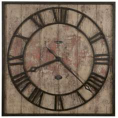 "Howard Miller Ty Pennington Talmage 35"" High Wall Clock"