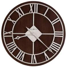 "Howard Miller 15"" Wide Prichard Wall Clock"