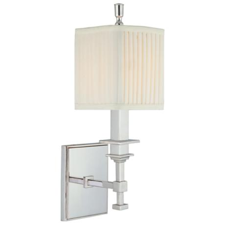 Hudson Valley Berwick Polished Nickel Wall Sconce