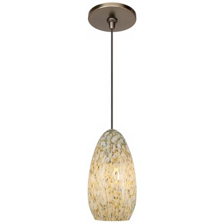 Banja Ivory with Bronze Fusion Jack Mini Pendant