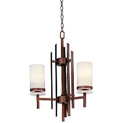 Midvale Brushed Bronze Finish ENERGY STAR® Chandelier