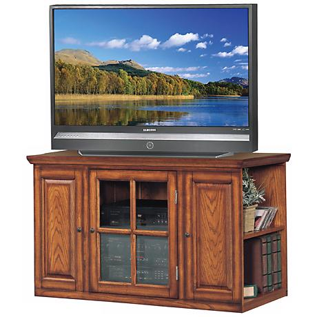 "Burnished Oak 42"" Wide Television Console"
