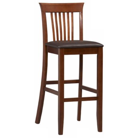 "Linon Triena Collection Craftsman 30"" High Bar Stool"