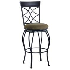 "Linon Curves 24"" High Swivel Counter Bar Stool"