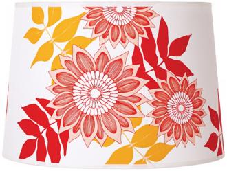 Lights Up! Camilla Meijer Red Anna Shade 14x16x11