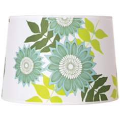 Lights Up! Camilla Meijer Green Anna Shade 14x16x11 (Spider)