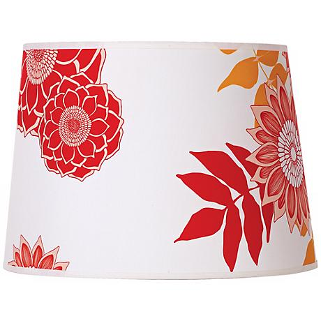 Lights Up! Camilla Meijer Red Anna Shade 12x14x10 (Spider)