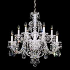Schonbek Sterling Collection 12-Light Crystal Chandelier