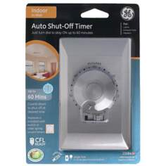 Stainless Steel 60 Minute Timer Wall Switch
