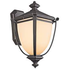 "Kichler Warner Park Collection 17"" High Outdoor Wall Light"
