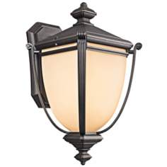 "Kichler Warner Park Collection 26"" High Outdoor Wall Light"