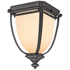 "Kichler Warner Park 9 1/2"" Wide Outdoor Ceiling Light"