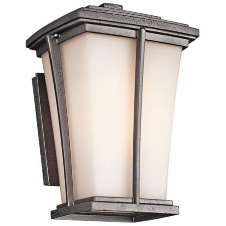 "Kichler Brockton Collection 10"" High Outdoor Wall Light"