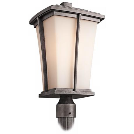 "Kichler Brockton Collection 20"" High Outdoor Post Light"