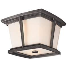 "Kichler Brockton Collection 11"" Wide Outdoor Ceiling Light"