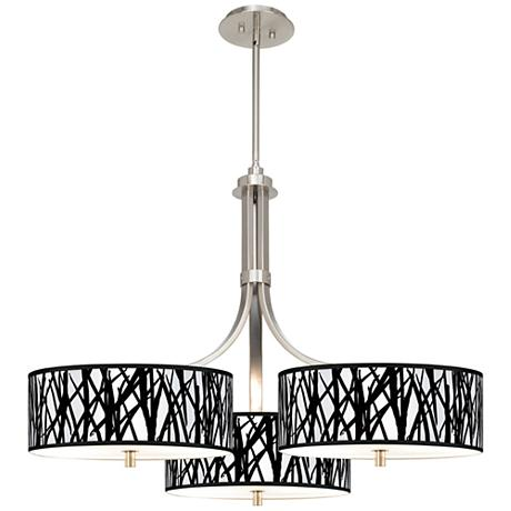Chandeliers And Linear Suspension likewise Tiffin 36 Bath moreover Cross Pendant additionally Black Jagged Stripes Giclee 36 Inch Wide Triple Pendant  n0494 P2713 as well Lightcovers. on acrylic light diffusers