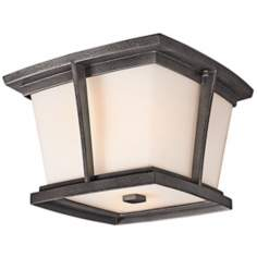 "Kichler Brockton ENERGY STAR 11"" Outdoor Ceiling Light"