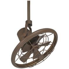"18"" Casa Vieja Big Sky Oil-Rubbed Bronze Ceiling Fan"