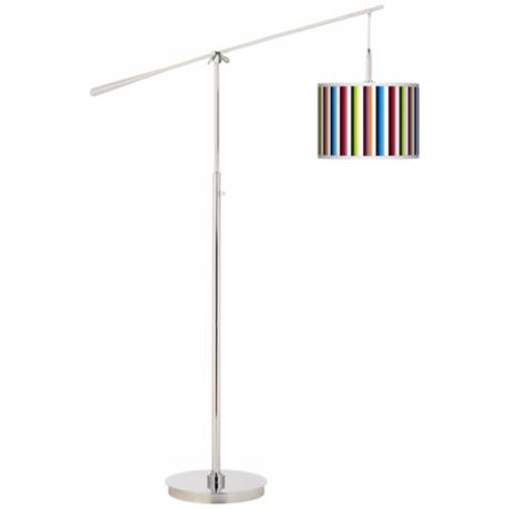 Technocolors Giclee Boom Arm Floor Lamp