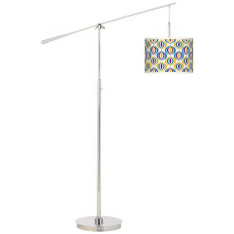 Scatter Giclee Boom Arm Floor Lamp