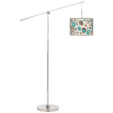 Stammer Giclee Boom Arm Floor Lamp