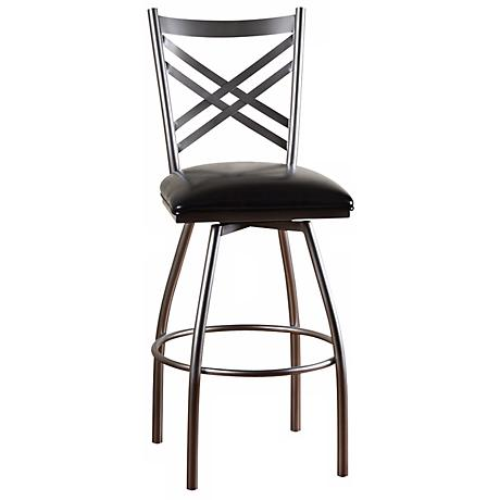 "Alexander  30"" High Bar Stool"