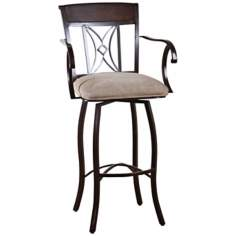 "American Heritage Atlantis 30"" High Bar Stool"