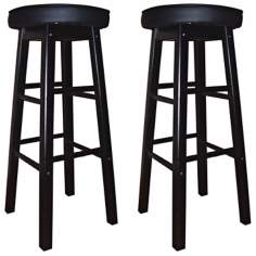 "American Heritage Delta 24"" High Set of 2 Counter Stools"