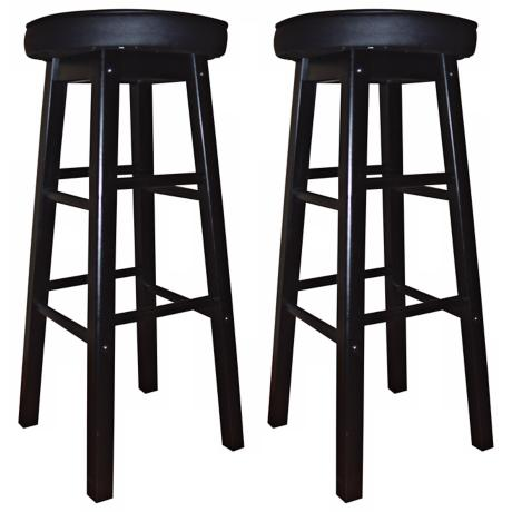 "American Heritage Delta 30"" High Set of 2 Bar Stools"