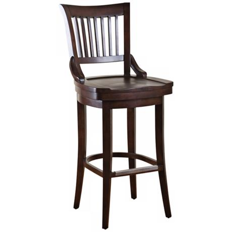 "American Heritage Liberty Chestnut 26"" High Counter Stool"