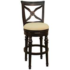 "American Heritage Livingston Black 26"" High Counter Stool"