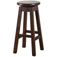 "Greystone Kent Chestnut 24"" High Counter Stool"