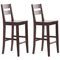 "Set of 2 American Heritage Tyler 30"" High Bar Stools"