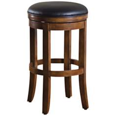 American Heritage Winston Wood Bar Stool
