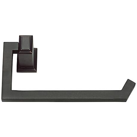 "Sutton Place 6 3/4""W Venetian Bronze Toilet Paper Holder"