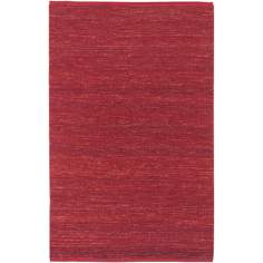 Candice Olson Continental Red Area Rug