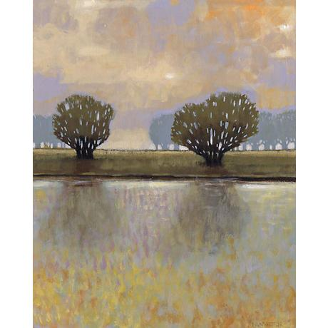 "Dreamer's Lake II Giclee 30"" High Canvas Wall Art"