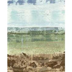 "Extracted Landscape I Giclee 30"" High Canvas Wall Art"