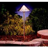 Kichler Hammered Copper LED Landscape Path Light