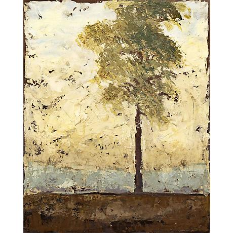 "Soliloquy Tree Giclee 40"" High Canvas Wall Art"