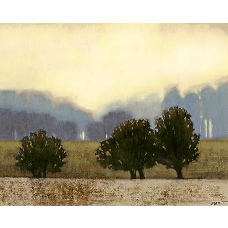 "Villa Park II Giclee 24"" Wide Canvas Wall Art"