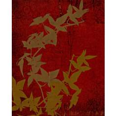"Garden Collage 8 Giclee 24"" High Canvas Wall Art"